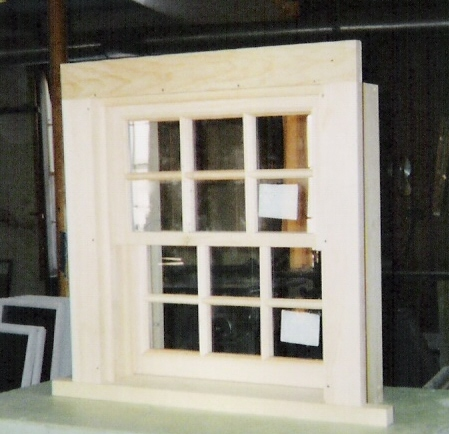 Double hung wood windows custom made built sashes for Replacement window rankings
