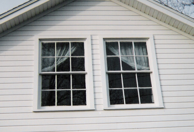 Double hung wood windows; custom made/built sashes, reproduction ...