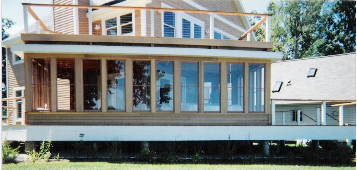 Storm And Screen Windows Custom Made Built Wood Sashes