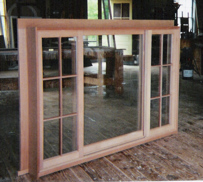 Wood Windows Custom Built Fix Sliding Picture Storm