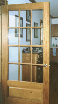 12 Divided Light Exterior Door Unit  Single Pane Glass   Replacement Front  Door   Project In NY