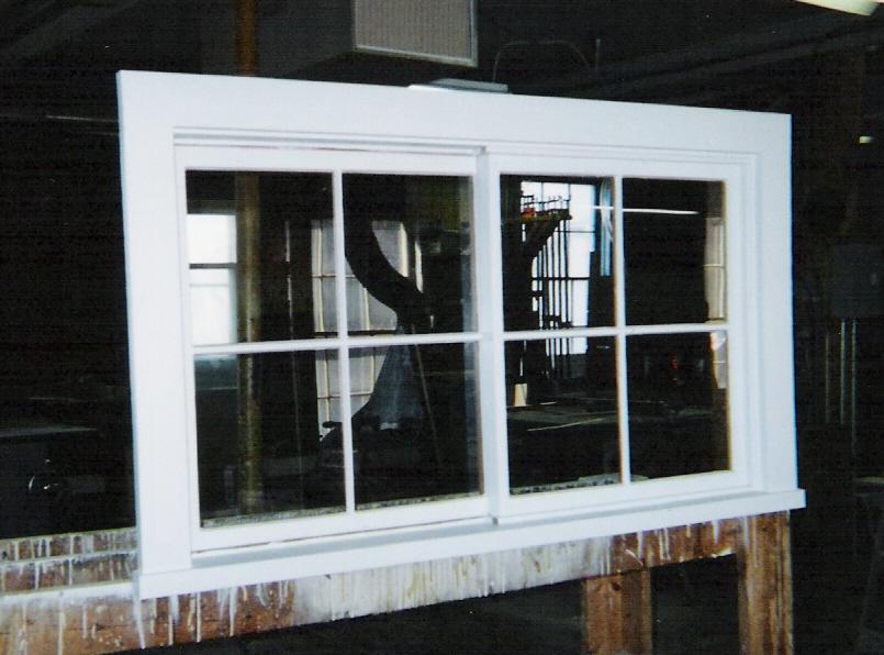 Wood Windows Custom Built Fix Sliding Picture Storm